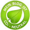 Dieser Blog ist CO²-neutral